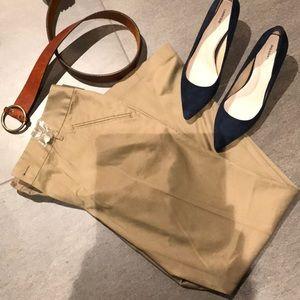 Eddie Bauer NWT tag khaki trousers size 14